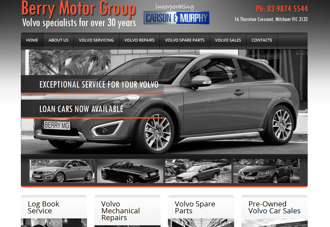 371864-Berry Motor Group website