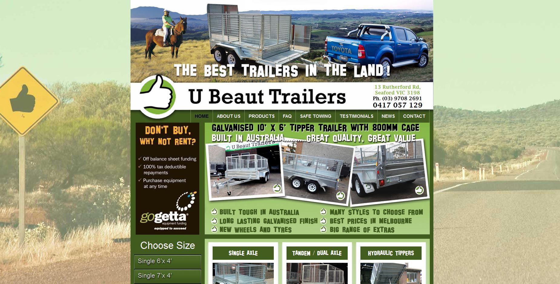 371874-U Beaut Trailers website