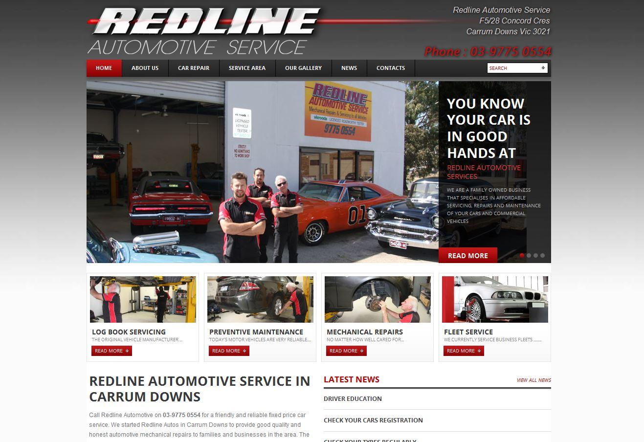 371890-Redline autos website